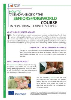 Ansicht: Flyer A4 - Handout Seniors@DigiWorld - English