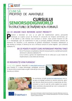 Ansicht: Flyer A4 - Handout Seniors@DigiWorld - Romanian