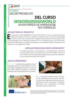 Ansicht: Flyer A4 - Handout Seniors@DigiWorld - Spanish