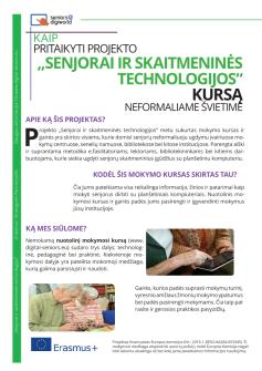 Ansicht: Flyer A4 - Handout Seniors@DigiWorld - Lithuanian