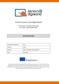 Ansicht: Seniors@DigiWorld Learning Concept