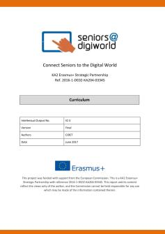 Ansicht: Seniors@DigiWorld Blended Learning Curriculum